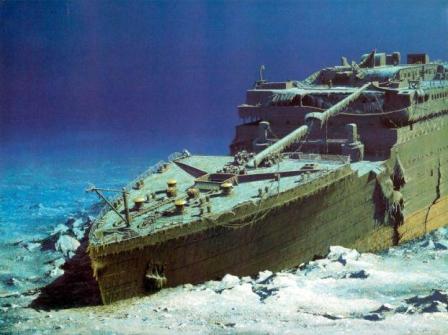 titanic rests
